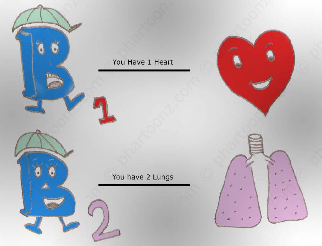 Beta receptors mnemonics